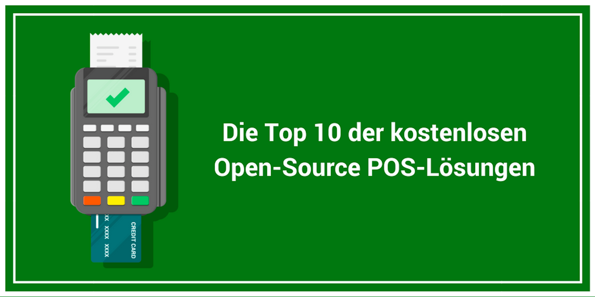 Top kostenlosen und Open-Source POS Software