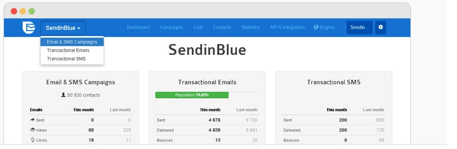 Sendinblue MailChimp-Alternative für E-Mail-Marketing
