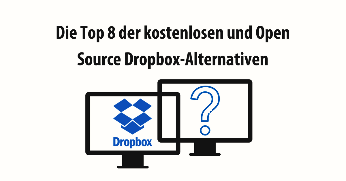 Alternativen zu Dropbox