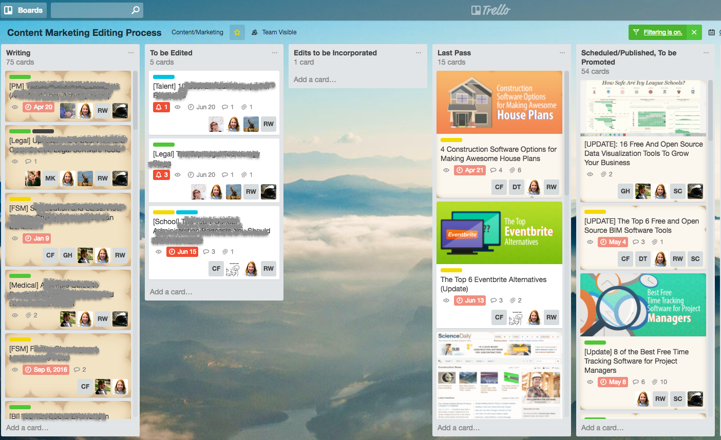 Projektmanagement Software Trello-Alternativen