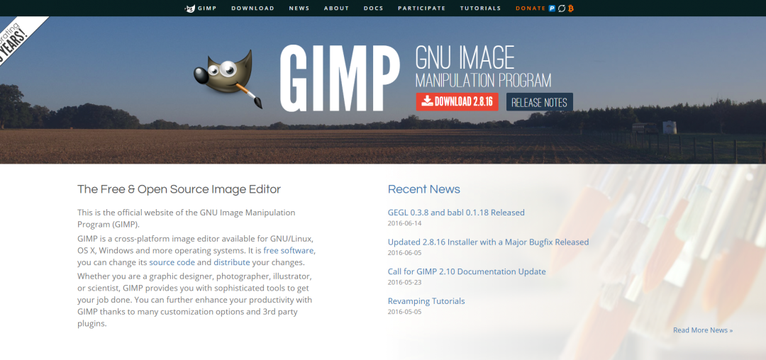 Eventmanagement GIMP