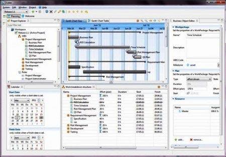 logiciel gestion de projet 2-Plan