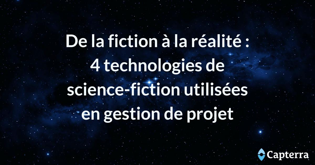 gestion de projet technologies science-fiction