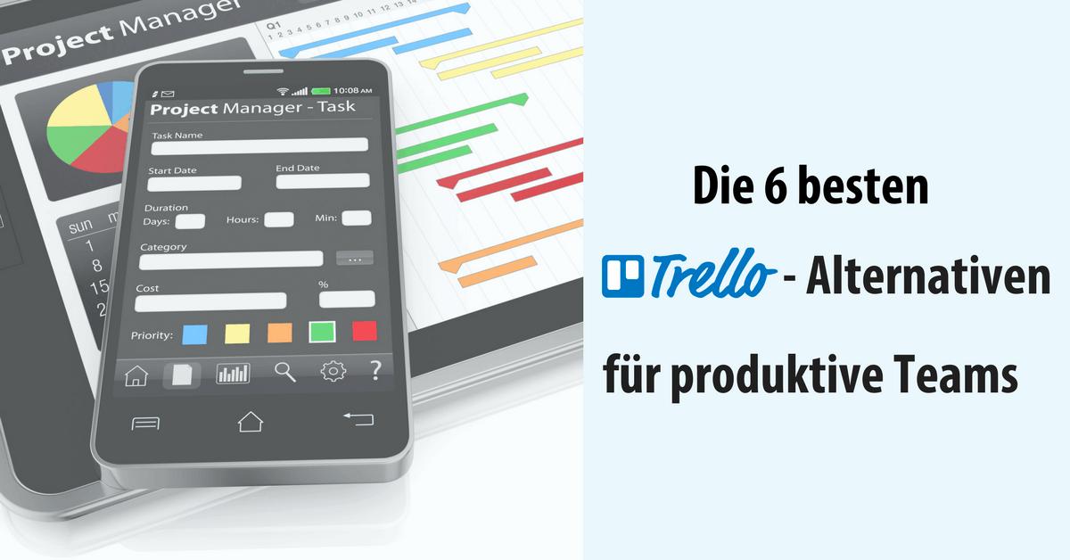Projektmanagement Software Trello-Alternativen