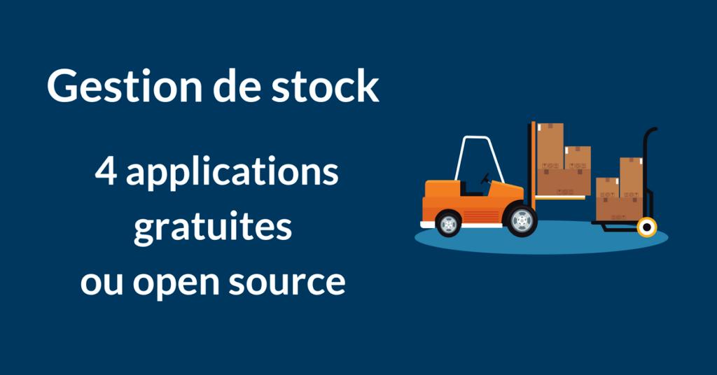 gestion de stock logiciels gratuits open source