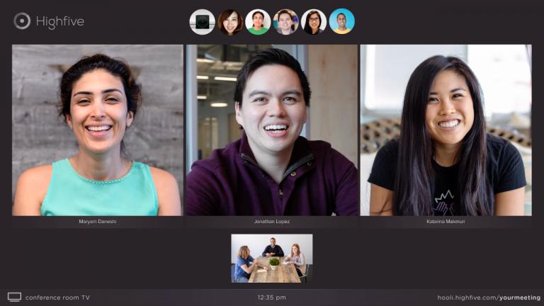 Skype-Alternative Highfive