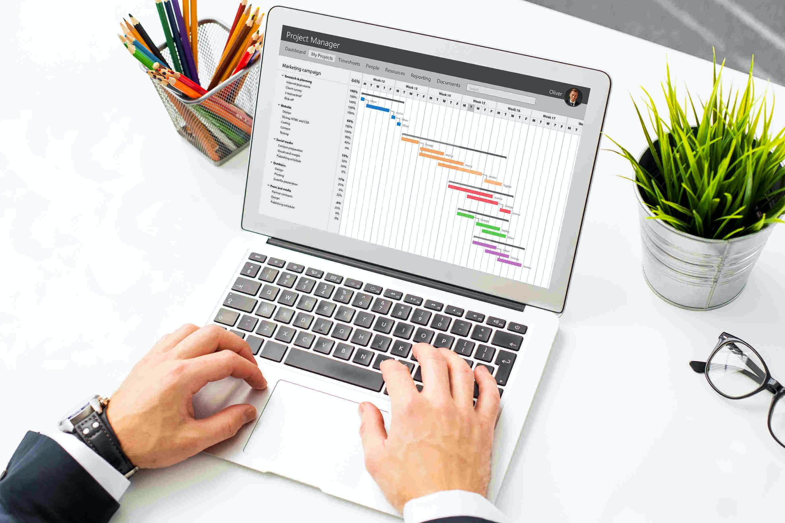 Gantt-Chart-Tools: das Planungsinstrument im Projektmanagement