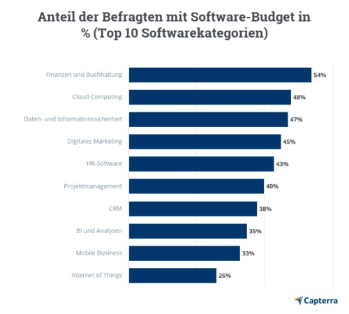 Softwarebudget Abbildung 1