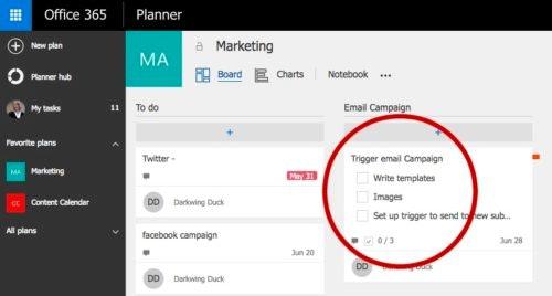 Microsoft Planner vs Trello Deadlines