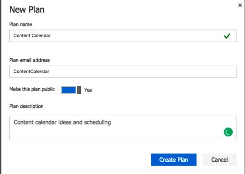 Microsoft Planner vs Trello Neues Projekt