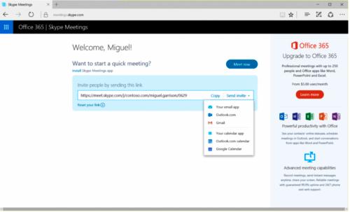 Skype-Alternativen Office 365
