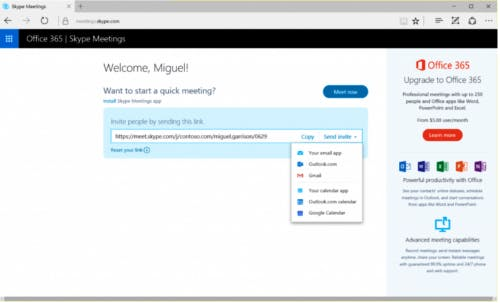 Skype-Alternativen Office 365
