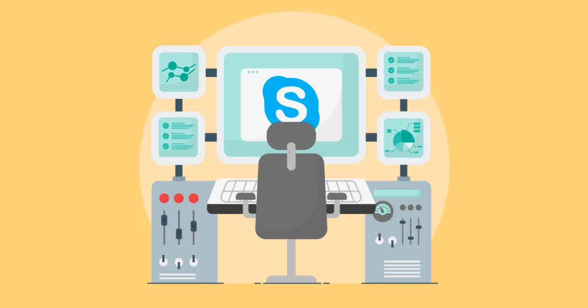 Skype monitoring