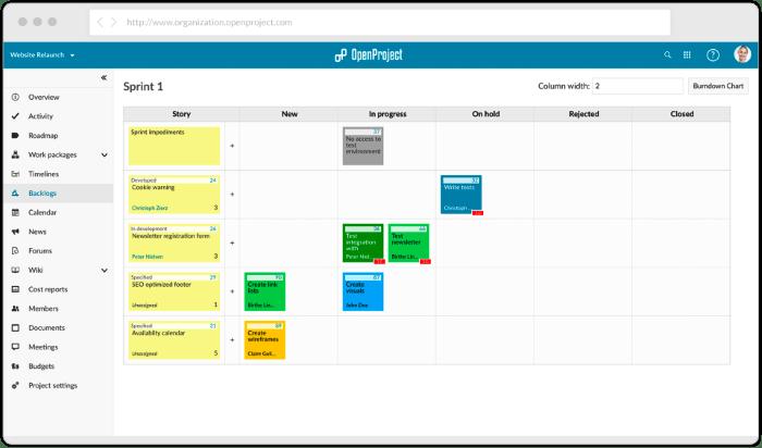 kostenlose und Open Source Projektmanagement-Tools OpenProject