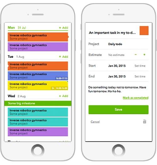 kostenlose und Open Source Projektmanagement-Tools Teamweek