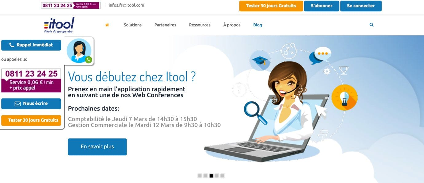 Gestion commerciale Itool