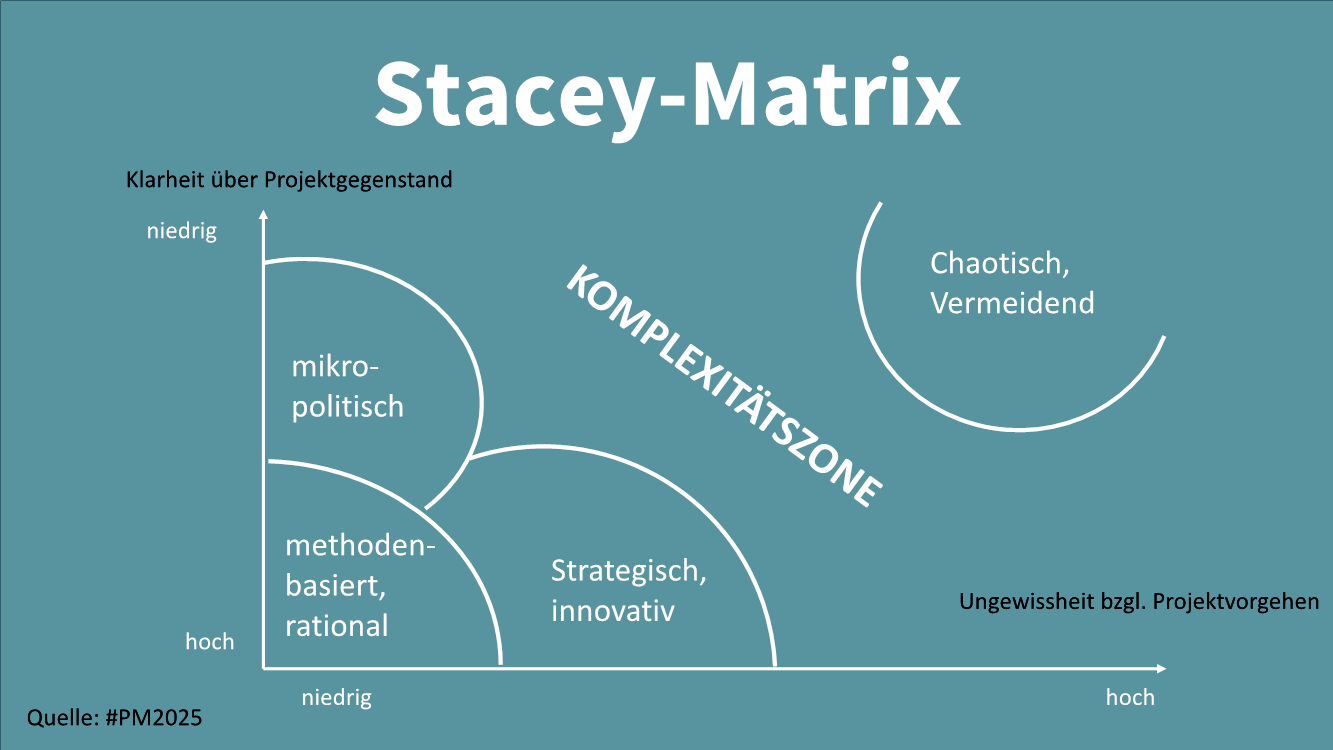Darstellung des Projektmanagement Instruments: Stacy-Matrix