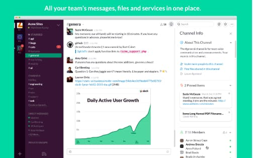 project management challenges example: slack helped the BBC through unifying emails and communication