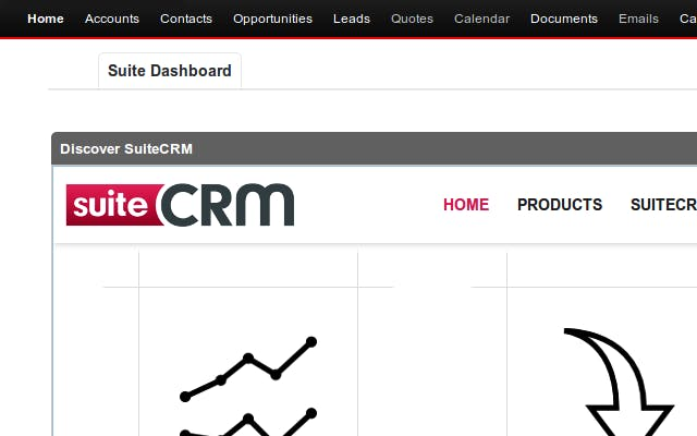 open source crm suiteCRM