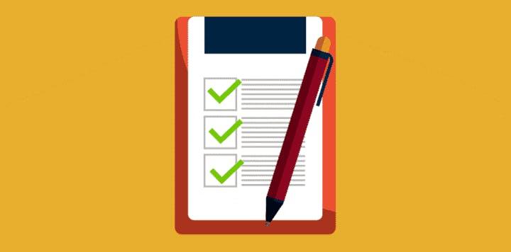 Veranstaltung planen - Checkliste