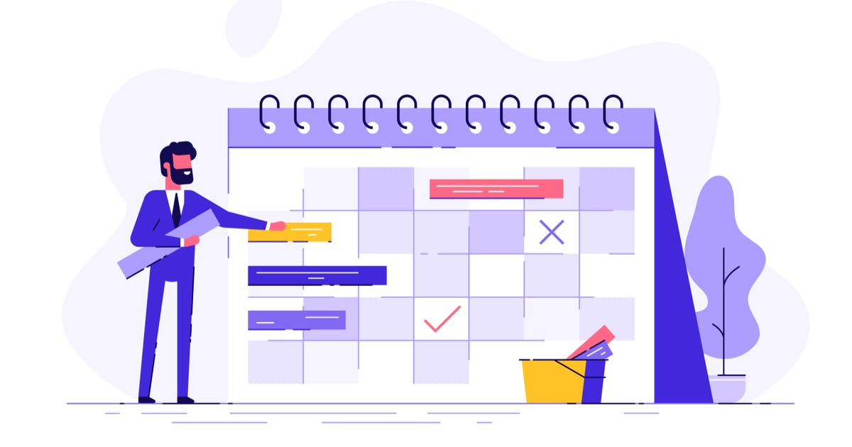 Calendar to show onboarding checklist for new starters