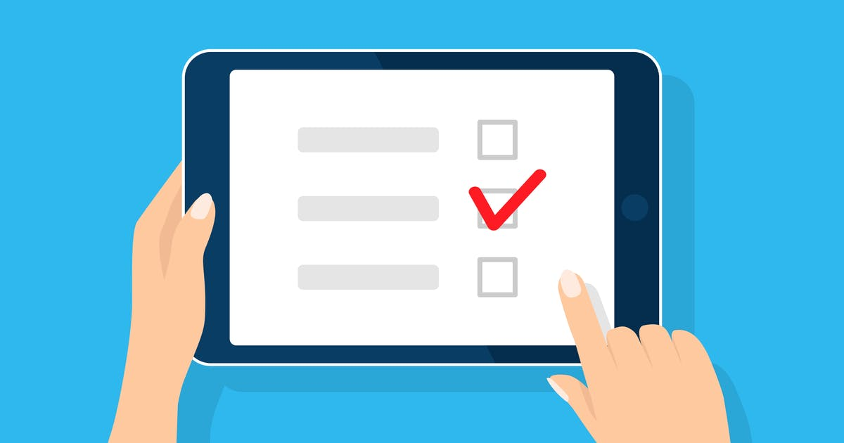 Using surveys as onboarding software