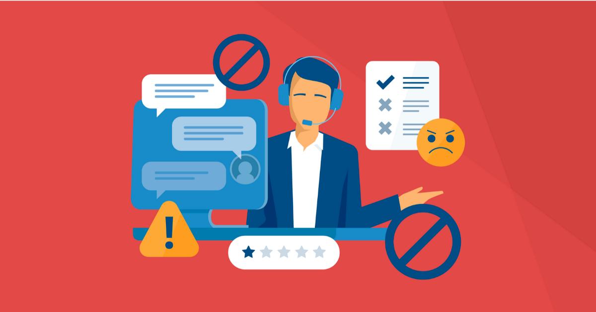 Header - Le sens du service client, les erreurs à éviter