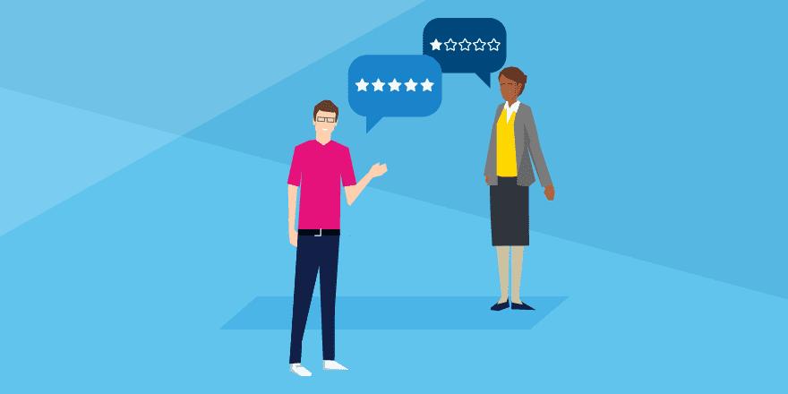 Header - écoute client, comment bien gérer vos avis clients contradictoires