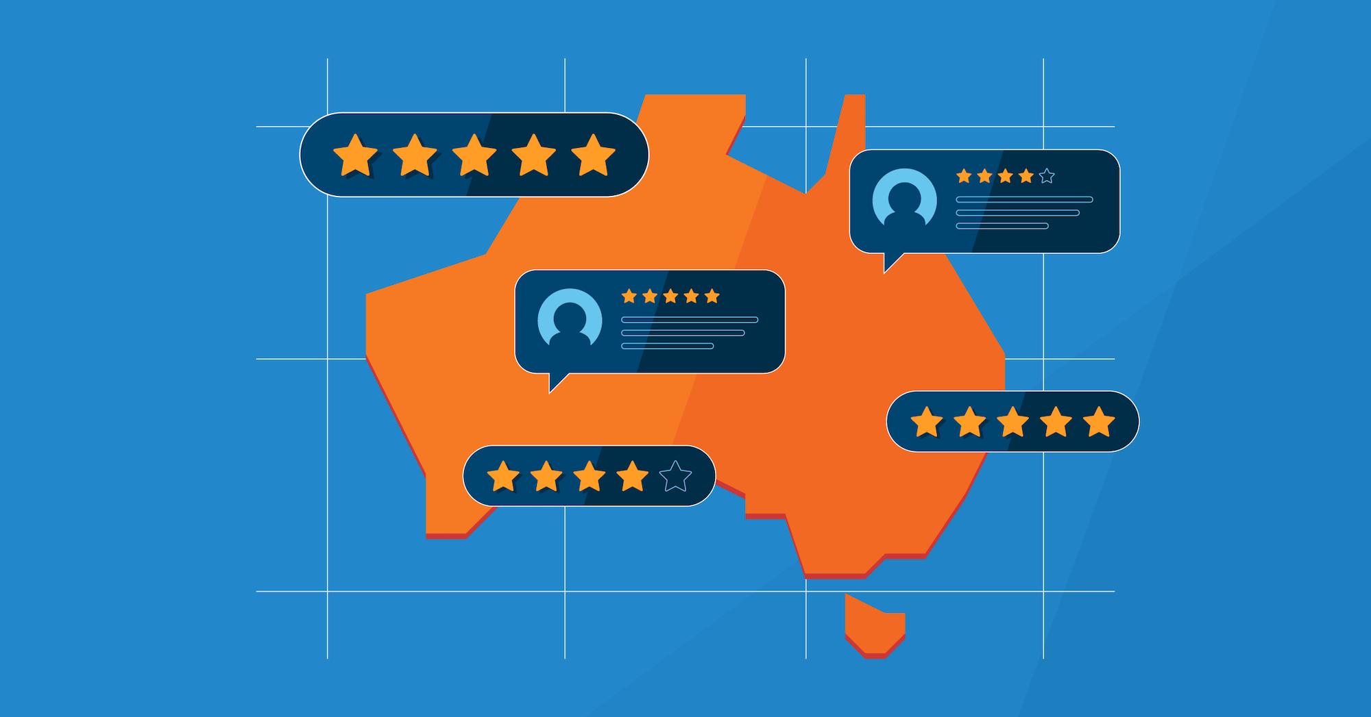 capterra's top ten software companies in australia