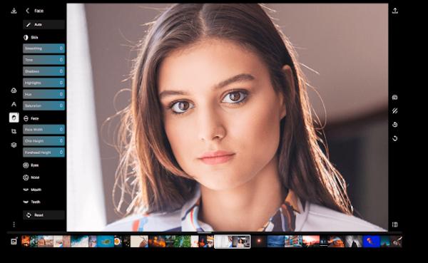 Screenshot of Polarr Photo Editor