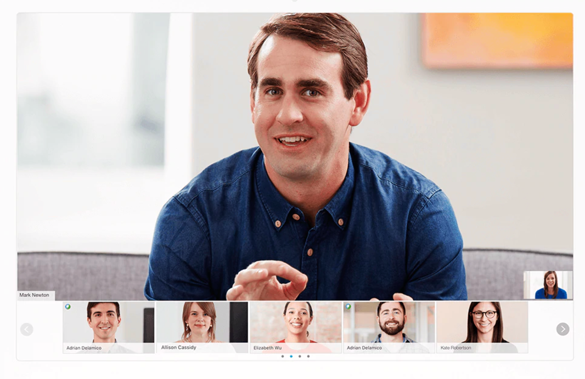 webex software de vídeo conferência