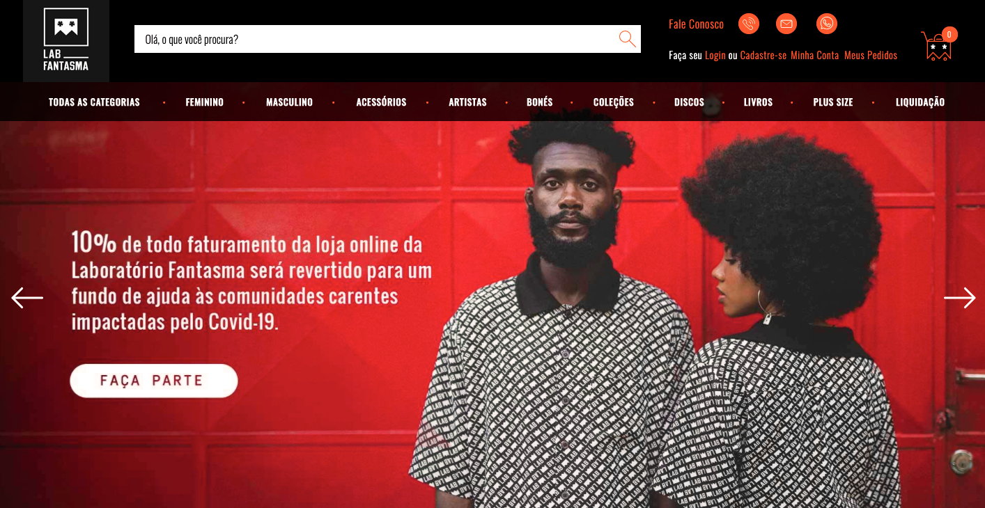 vender na internet loja roupas