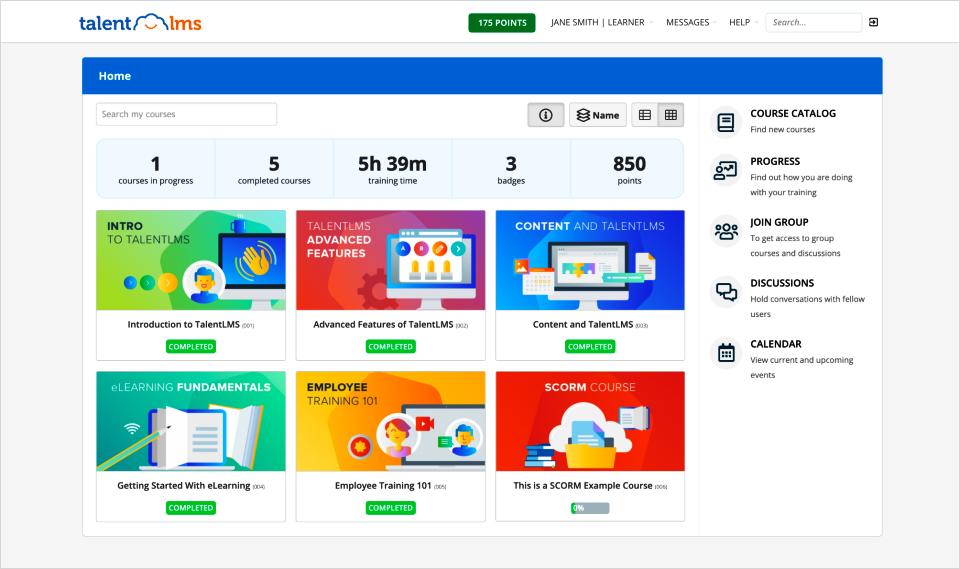 e-learning maken met TalentLMS