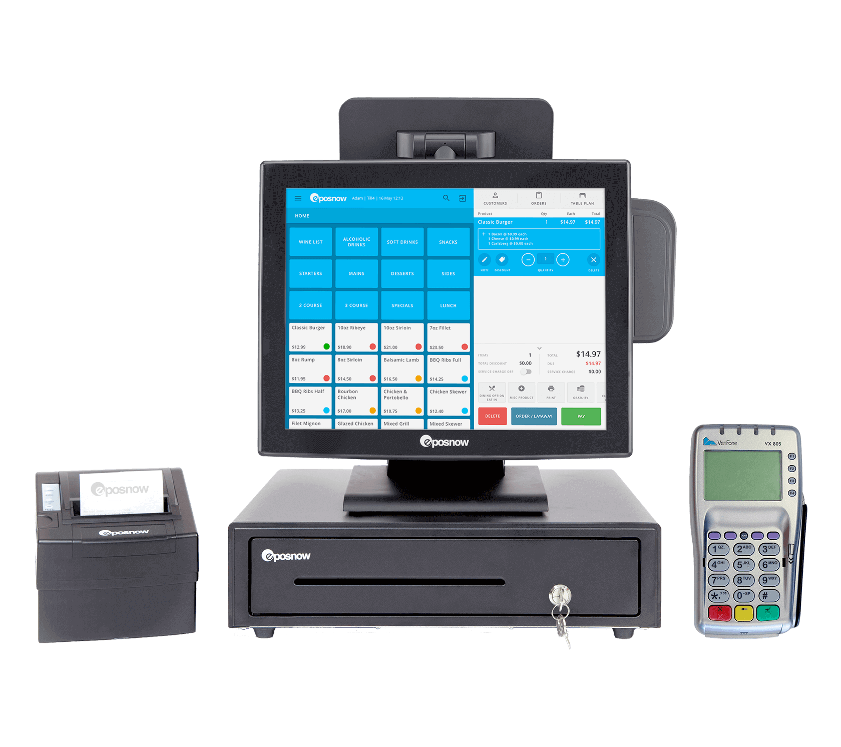 Epos NOW payment processing system
