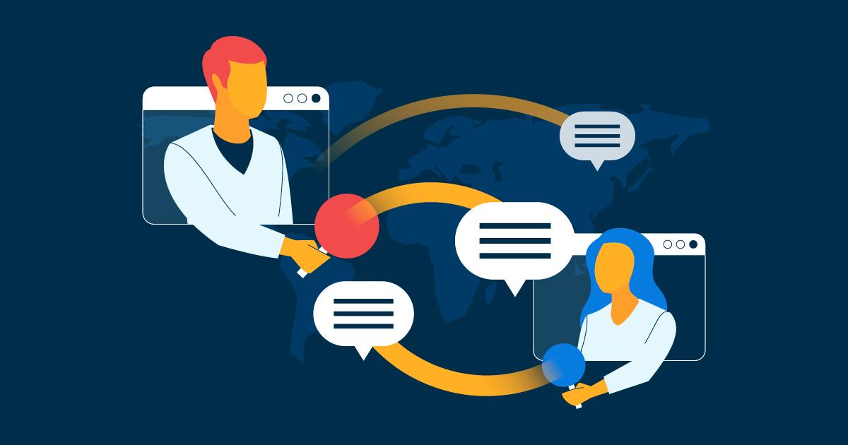 Comunicación efectiva en equipos durante el teletrabajo