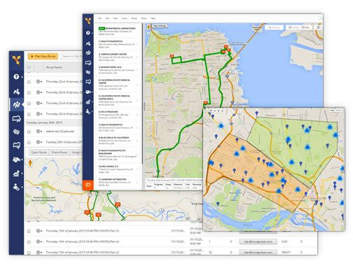 Route4me software route planning software